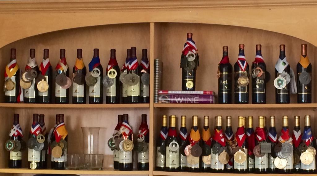 Highly awarded RayLen Winery